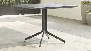 largo square fliptop dining table crate and barrel
