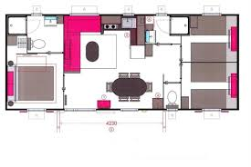 mobil home 4 chambres cottage 6 personnes 3 chambres 2 salles de bain cing