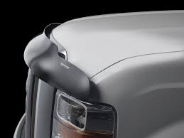 weathertech stone u0026amp bug deflector hood shield for ford f 150