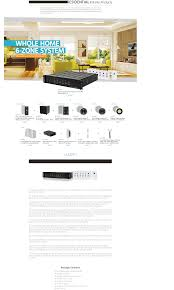 6 zone home audio multizone controller and amplifier kit no logo