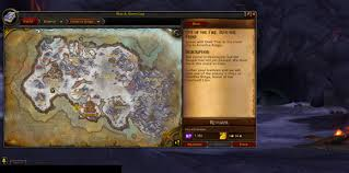 map quests warlords of draenor quest and map interface