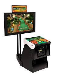power putt golf arcade game with stand game room guys
