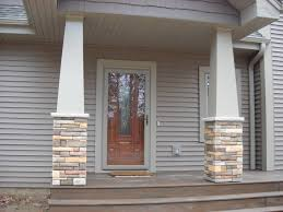 Front Porch Post Wraps by Craftsman Porch Columns Column Wraps Exterior Columns