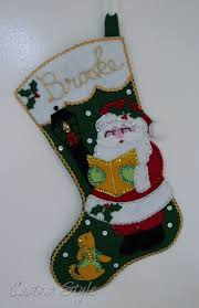 171 best felt crafts images on pinterest felt stocking felt