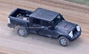jeep chief truck jeep u0027s upcoming wrangler based pickup truck finally spotted