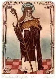 anche i gati hanno un santo Protettore, anzi una santa protetrice dei gatti: Santa Gertrude, la festa era il 16, ma non l'ho potuta mettere dans gatti