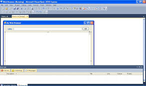 design web form in visual studio 2010 visual basic 2010 lesson 19 creating a simple web browser visual