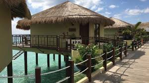 over the water bungalows riviera maya youtube