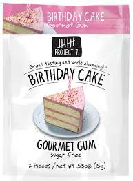 wedding cake gum project 7 sugar free gum birthday cake 12 count