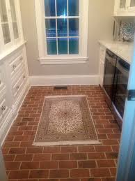 kitchen and floor decor 70 best kitchen and dining room brick tile floors images on