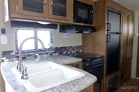 Forest River Wildwood Trailer Rental In San Marcos CA - Travel trailer with bunk beds