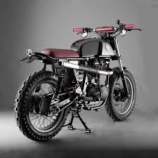 royal enfield gets into the custom game royal enfield scrambler