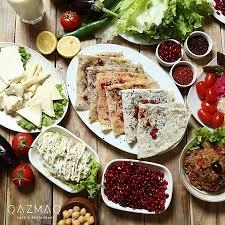 cuisine azerbaidjan azerbaijan cuisine kutab picture of qazmaq cafe resturant baku