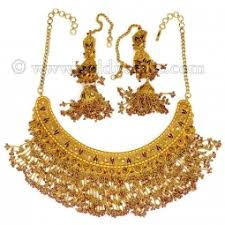 gold har set 22 k bridal sets rani haar goldpalace