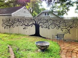 Garden Wall Paint Ideas Fence Painting Ideas 25 Best Ideas About Fence Painting On