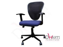 Purple Computer Chair Dharti Furniture Staff Computer Chair Surat Staff Chair