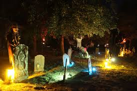 Decorating Your Yard For Halloween Outdoor Halloween Decoration Craft Ideas On Exterior Design