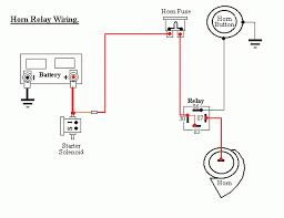 wiring diagram for horn relay