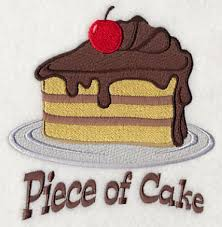 Free Kitchen Embroidery Designs by This Free Embroidery Design Is Called U201cpiece Of Cake U201d Free