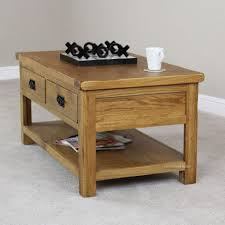 White Painted Oak Furniture Coffee Table Modern White Granite Top Coffee Table With Brown
