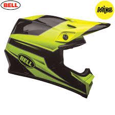helmet motocross bell mx 9 mips helmet stryker hi viz green