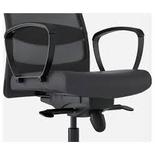 Global Office Chair Replacement Parts Markus Swivel Chair Glose Black Ikea
