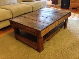 handmade coffee table rustic handmade coffee table coffee pallets and house