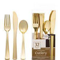 gold plastic silverware plastic gold forks 25ct plastic gold silverware that looks real