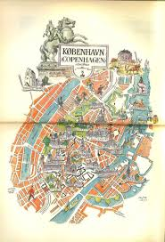 map of copenhagen scandi six maps of copenhagen