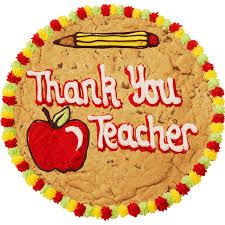 thank you teacher giant cookie millie u0027s cookies