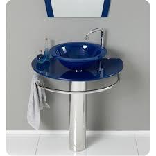 Bathroom Vanities Burlington by Minimalist Bathroom With Kokols Single Pedestal Bathroom Vanity