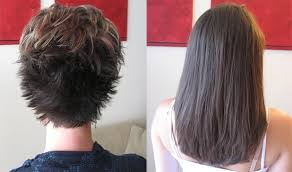 pics pf extentions with short hair hair extensions on really short hair before and after images