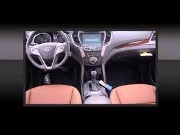 Saddle Interior 2015 Hyundai Santa Fe Sport 2 0l Turbo W Saddle Interior Youtube