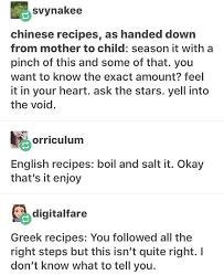 Different Languages Meme - recipes in different languages album on imgur