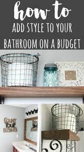 25 best ideas about bathrooms on a budget on pinterest bathroom