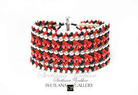 bracelet bead pattern images Nortia bracelet beading pattern tutorial jpg