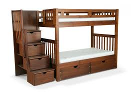 Bunk Bed Wooden Bedroom Cool Bunk Bed Plans Bed With Storage Underneath