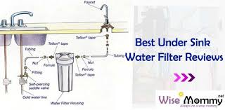 best under sink water filter reviews wise mommy