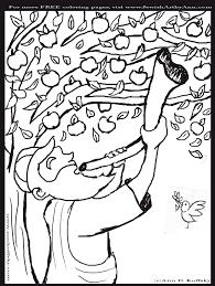 shofar coloring page