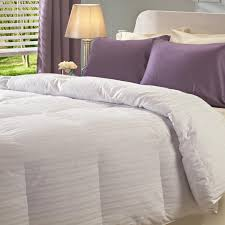 Feather Down Comforter Oversized 360 Thread Count Baffle Box Down Comforter Free