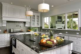Contemporary Kitchen Backsplash by Kitchen Backsplash Ideas With White Cabinets And Dark