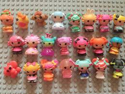 free shipping 20pcs lot mini lalaloopsy mini doll ornaments bulk
