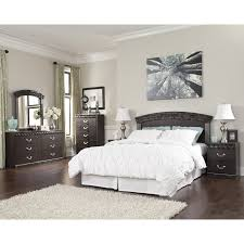 bedroom sets vachel b264 5 pc queen bedroom set at furniture king