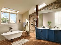 perfect rustic meet traditional attic bathroom design alternative