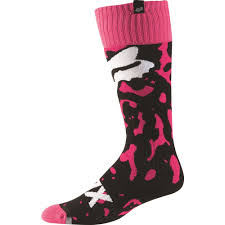 youth motocross boots fox racing 2016 girls youth mx cauz socks pink available at