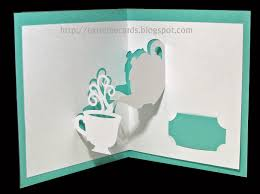 Free Kirigami Card Templates Extreme Cards And Papercrafting Last Minute Mother S Day Cards