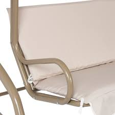 Patio Furniture In Ontario Ca by Outdoor 2 Person Canopy Swing Glider Hammock Patio Furniture