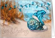 beach christmas cards from greeting card universe