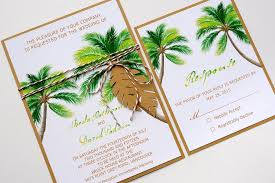 Save The Date Destination Wedding Natural Palm Tree Tropical Beach Destination Wedding Save The Date