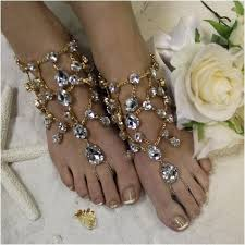 wedding barefoot sandals barefoot sandals gold wedding foot jewelry